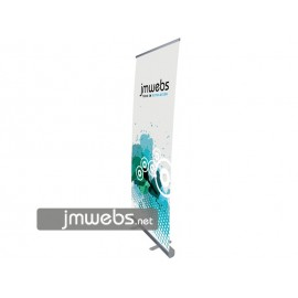 1 Roll-Up 85x206cm de Lona